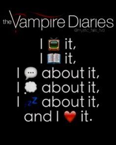 I ❤️ the vampire diaries
