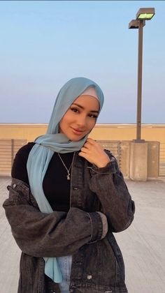 Modest Fashion Hijab, Modern Hijab Fashion, Muslim Women Fashion, Modesty Fashion, Hijab Fashion Inspiration, Mode Inspiration, Fashion Fashion, Spring Fashion, Fashion Ideas