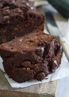 Paleo Chocolate Zucchini Bread is a great grain free snack for back to school lunchboxes.