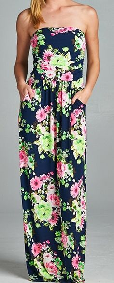 95150d1bf1 New Arrival!!! Floral Printed Maxi Dress $40.00 www.hadleyashleys.com Floral