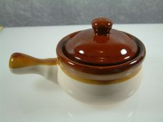 PRICE REDUCED: Set of 4 French Onion Soup Bowls w/ Side Handles and ...
