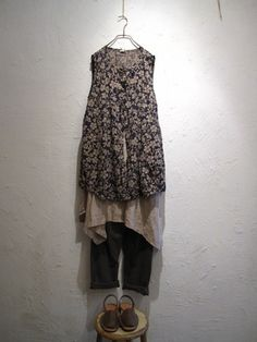 cotton tunic, linen dress  pants