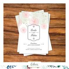 Ideia para convite de casamento!! #wedding #inspitation #vintage #arabescos #casamento #floral #inspiração