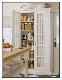 Free Standing Kitchen Pantry Cabinets | CDxND.com - Home Design in ...