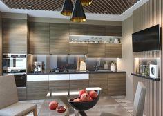 Фотография: в стиле , Кухня и столовая, Кантри, Современный, Планировки, Минимализм, Перепланировка, Как оформить кухню в современном стиле, как оформить кухню в стиле прованс, как оформить кухню в стиле хай-тек, как оформить кухню в молодежном стиле, кухня для молодежи, кухня для семейной пары, планировка кухни 12 метров, планировка квадратной кухни – фото на InMyRoom.ru Kitchen Design, Kitchen Ideas, Sweet Home, Kitchen Cabinets, Interior Design, Modern, Table, Furniture, Home Decor