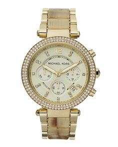Michael Kors Parker Glitz Watch.