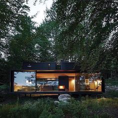 """3,071 Me gusta, 16 comentarios - Green Tiny Houses (@greentinyhouse) en Instagram: """"Vipp Shelter @vipp #tinyhouse #architecture #home #micro #nature #tinyhomes #architect #house…"""""""