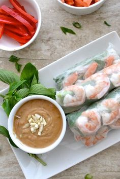 How to make Vietnamese Spring Rolls. How to make Vietnamese Spring Rolls- step by step guide to a fun dinner! Fish Recipes, Seafood Recipes, Asian Recipes, Appetizer Recipes, Appetizers, Cooking Recipes, Healthy Recipes, Ethnic Recipes, Vietnamese Recipes