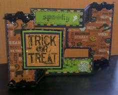 Trifold Cards | Card: Halloween Trifold Card
