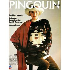 Pingouin 128 Knitting Pattern Book  Over 36 by CorrinneExpressions