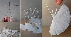 How to Make Paper Ballerinas - DIY Crafts - Handimania
