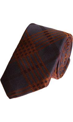 Alexander McQueen Wide Check Tie