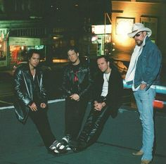Metallica 90's Kirk - Jason - Lars - James