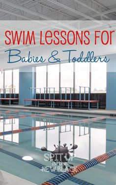 The Importance of Swim Lessons for Babies and Toddlers