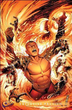 Phoenix Namor vs the Avengers