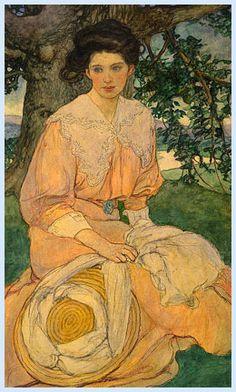 Elizabeth Shippen Green  (1 Settembre 1871-1954) è stat...