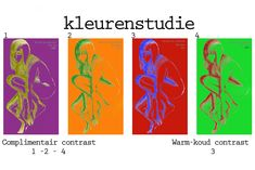 complementair en warm-koud contrast