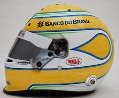 Bell HP7 N.Piquet Jr 2014 by Kocher's Custom Paint