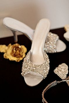 Ana Rosa bridal shoes - love these! Sparkly Wedding Shoes, Sparkly Shoes, Bridal Shoes, Low Heel Shoes, Low Heels, Shoes Heels, Ankle Boots, Shoe Boots, Bling Bling