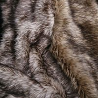 Product detail for Long Pile Fur, Wolf Fur fabric for sale $30.00/yard in Los Angeles, California