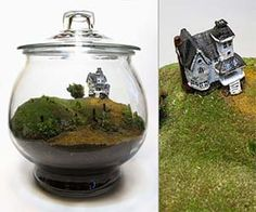 You can keep the weird little house on the hill in your office with the lovingly crafted Beetlejuice terrarium. The iconic haunted house from the most excellent Tim Burton movie stands one and a half inches tall, and it sits atop hills of living, sustainably harvested moss. Buy It $315.00 via Etsy.com