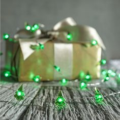 Green Tree 10' LED Glimmer Strings® | Pier 1 Imports