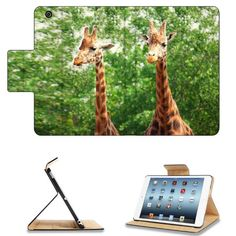 Two Giraffes Tall Green Tree Apple Ipad Mini Flip Case Stand Smart Magnetic Cover Open Ports Customized Made to Order Support Ready Premium Deluxe Pu Leather 8 Inch (205mm) X 5 1/2 Inch (140mm) X 11/16 Inch (17mm) msd Ipad Mini Professional Ipadmini Cases Ipad_mini Accessories Graphic Background Covers Designed Model Folio Sleeve HD Template Designed Wallpaper Photo Jacket Wifi 16gb 32gb 64gb Luxury Protector:Amazon:Computers & Accessories