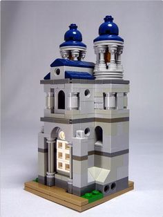 "LEGO Mini Modulars MOC: ""Basilika"" 