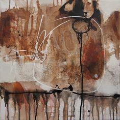 Abstrakte Kunst und abstrakte Malerei - Iris Rickart | Abstrakte Kunst Iris Rickart Abstract Images, Abstract Art, Abstract Paintings, Iris, Art Abstrait, Contemporary Art, Landscape, Collage, Studio