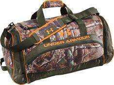 UA Large Camo Duffel Bag Bags by Under Armour $59.99