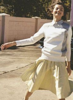 """When You Think Young the World Belongs to You"", Moa Aberg photographed by Bruce Weber in British Vogue April 2012"