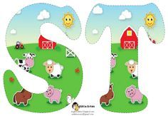 Carson Dellosa Education Farm Shape Stickers - Perfect For Reward Or Recognition, Each Pack Of These Acid-free And Lignin-free Includes 72 Stickers! Available In A Wide Variety Colors Shapes, Are An Essential Addition To Any Teacher& Desk! Sheep Pig, Farm Unit, Carson Dellosa, Farm Birthday, Farm Party, Farm Theme, Kids Songs, Farm Animals, Animation