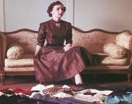 Navy wife sewed up first prize in 1950s McCalls fashion contest