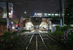 夜散歩のススメ「大塚駅の立体交差」東京都豊島区