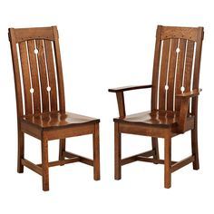 RH Douglas Mission Chair. $315 w/ leather seat ($402 in quarter-sawn oak). http://www.amishdirectfurniture.com/index.php?main_page=product_info=109_3_16_id=2938