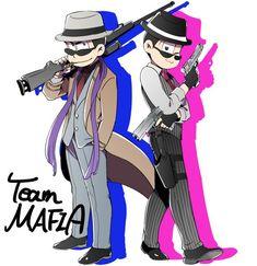 Team Mafia (Karamatsu Todomatsu)
