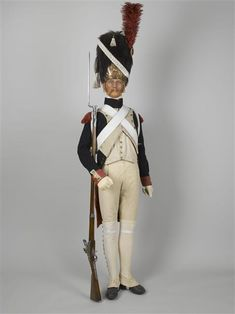 1st Regiment of Grenadiers a Pied ( Foot Grenadiers ) of the French Imperial Guard.