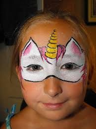 Image result for unicorn face painting image
