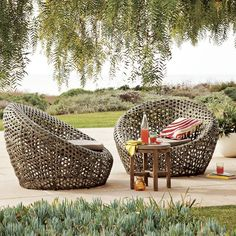 Montauk Nest Chairs from West Elm