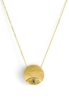 House of Harlow 1960 Evil Eye Necklace