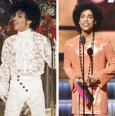 Prince drank from the fountain of youth. 31 year's  later 2015