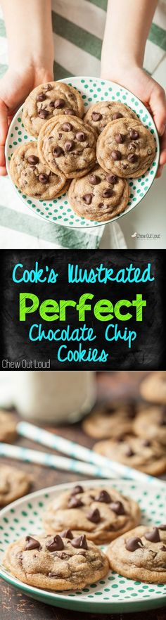 Stays chewy soft. Deep, buttery, and basically perfect. #chocolate #cookies #dessert www.chewoutloud.com