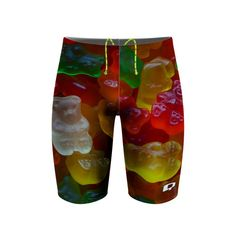 Gummy Jammer. While highly realistic, our Gummy Suits are not edible..yet. #qswimwear