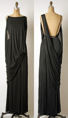 Gorgeous Draped Gown. Love.