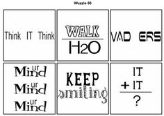Word Puzzles as a walk in the door activity! Creativity Deductive Thinking in the Middle School Classroom Middle School Classroom, Middle School Science, Classroom Fun, Beginning Of School, High School Students, Classroom Activities, Classroom Organization, Classroom Management, Math Logic Puzzles
