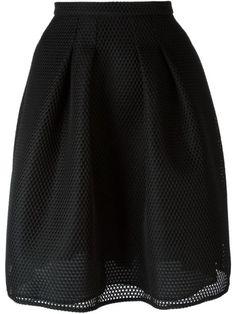 BURBERRY Mesh Skirt. #burberry #cloth #skirt