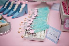 Candy table for Cinderella Party
