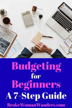Creating a monthly budget for beginners can seem like a daunting task. But this guide makes budgeting for beginners simple! Life On A Budget, Budget Help, Making A Budget, Create A Budget, Budget Plan, Sample Budget, Budgeting Finances, Budgeting Tips, Best Money Saving Tips