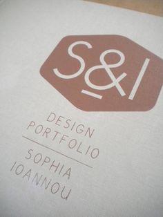S Portfolio Book by Sophia Ioannou, via Behance