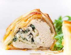 Filety z kurczaka w cieście francuskim
